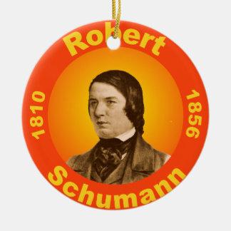Robert Schumann Ceramic Ornament