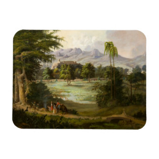 Robert Scott Duncanson - Chapultpec Castle Rectangular Photo Magnet
