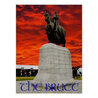 Robert the Bruce King of Scots Poster
