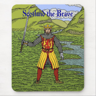 Robert the Bruce Scotland the Brave Mouse Pad