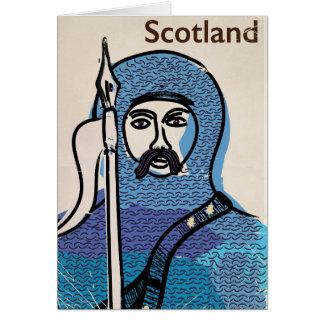 Robert the Bruce Scotland travel poster Card