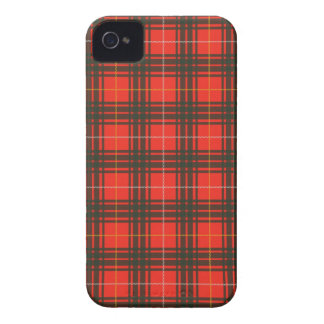 """Robert the Bruce"" Scottish Tartan iPhone 4 Cover"