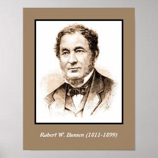 Robert Wilhelm Bunsen Poster