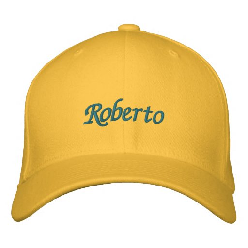 Roberto Embroidered Hat