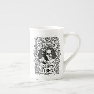 Roberto Firpo (black) Tea Cup