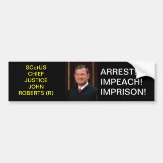 ROBERTS BUMPER STICKER