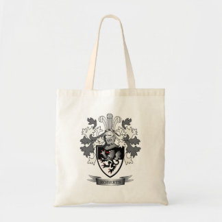 Roberts Family Crest Coat of Arms Tote Bag