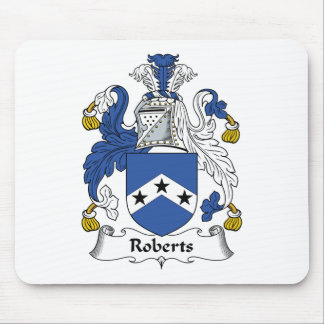 Roberts Family Crest Mouse Pad