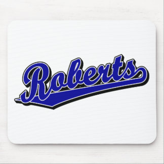 Roberts in Blue Mouse Mats