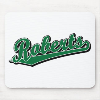 Roberts in Green Mouse Mats