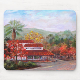 Roberts Market in Woodside - Customized Mouse Pad