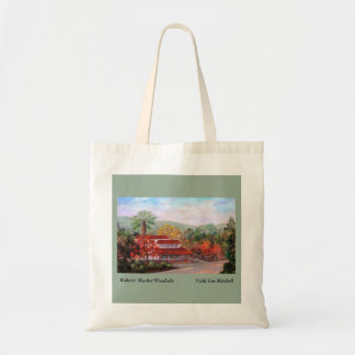 Roberts Market Woodside Canvas Grocery Bag
