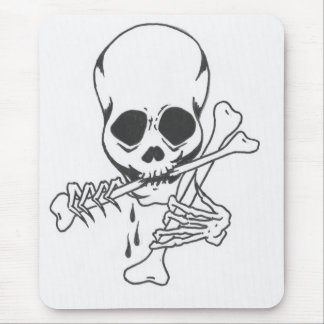 Robert's Skull 5 Mouse Pad
