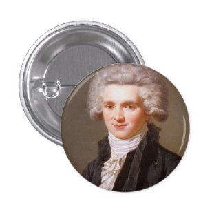 Robespierre 1 Inch Round Button
