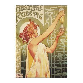 Robette Absinthe Advertisement Poster Canvas Print
