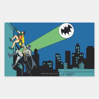 Robin And Batman Climb