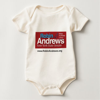 Robin Andrews for New York State Senate Baby Bodysuit