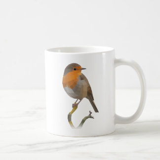 Robin bird coffee mug