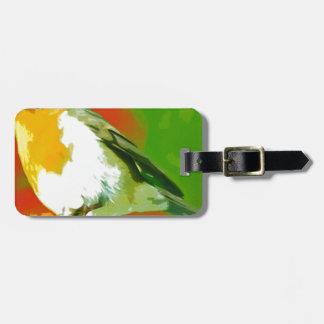 Robin Bird Luggage Tag