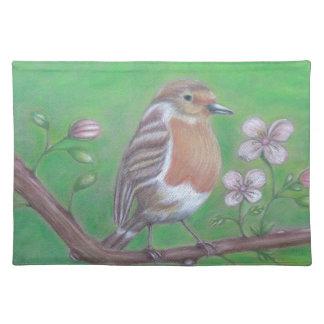 Robin Bird Placemats