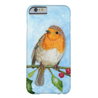Robin Bird Watercolour Painting iPhone 6/6s Case