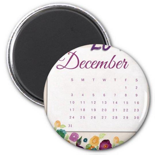 Robin Calendar Magnet