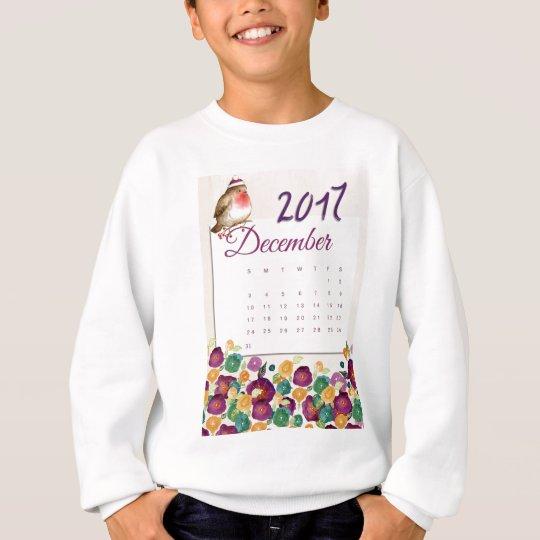 Robin Calendar Sweatshirt