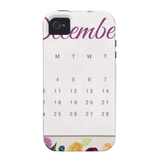 Robin Calendar Vibe iPhone 4 Cover