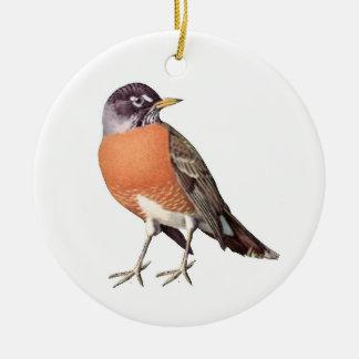 Robin Ceramic Ornament