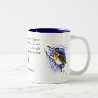 Robin Christmas Mug