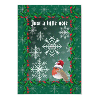 Robin Clause, Christmas notelets Card