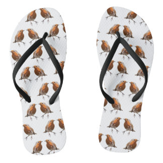 Robin Frenzy Flip Flops (choose colour)