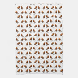 Robin Frenzy Kitchen Towel (choose colour)
