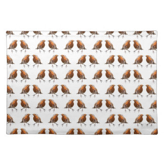 Robin Frenzy Placemat (choose colour)