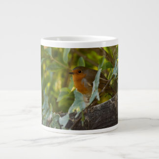 Robin Giant Coffee Mug