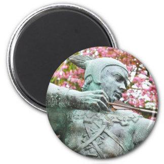Robin Hood 2 Inch Round Magnet
