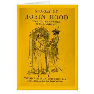 Robin Hood As Told Greeting Cards