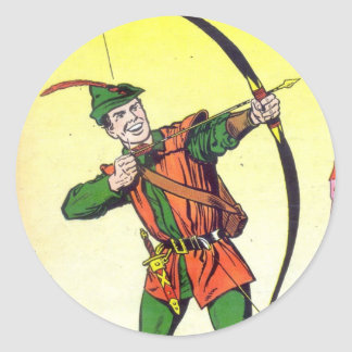 Robin Hood Classic Round Sticker