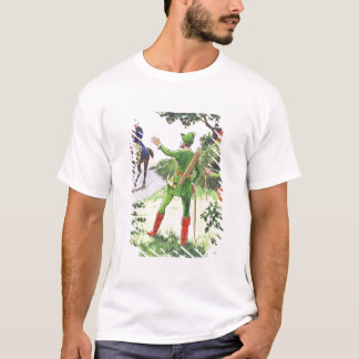Robin Hood, from 'Peeps into the Past', published T-Shirt