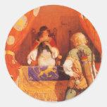 Robin Hood Meets Maid Marian by NC Wyeth Stickers