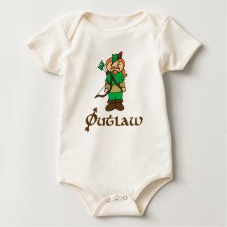 Robin Hood Outlaw Archery baby kids bodysuit shirt