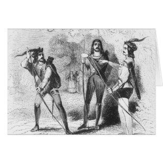 Robin Hood, Scarlet and John Card