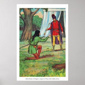 Robin Hood - The Golden Arrow Poster