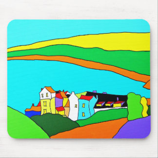 Robin Hoods Bay Yorkshire Mouse Pad