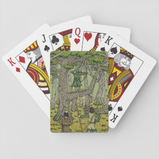 Robin in Sherwood Playing Cards