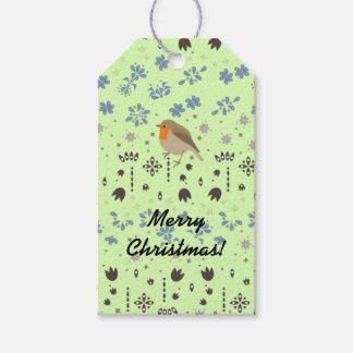 Robin - Merry Christmas Gift Tags