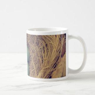Robin Nest and Eggs Classic White Coffee Mug