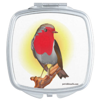 Robin Red Breast - Compact Mirror