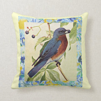 Robin Red Breast Pillow