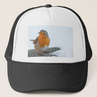 Robin Red Breast Trucker Hat